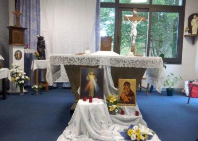 Vacances Chrétiennes : la chapelle
